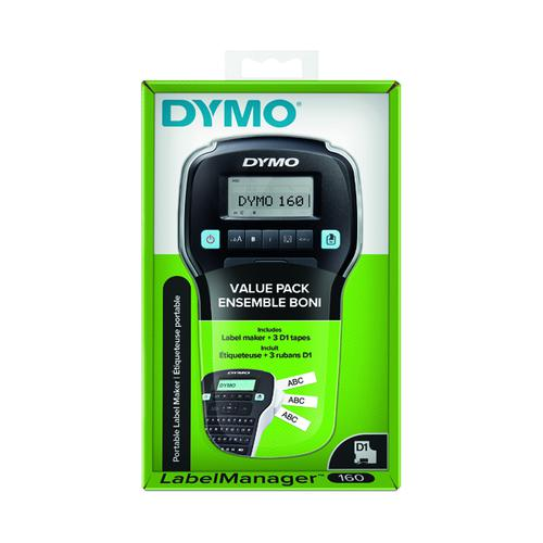 Dymo LabelManager 160 Value Pack Label Printer 2142267