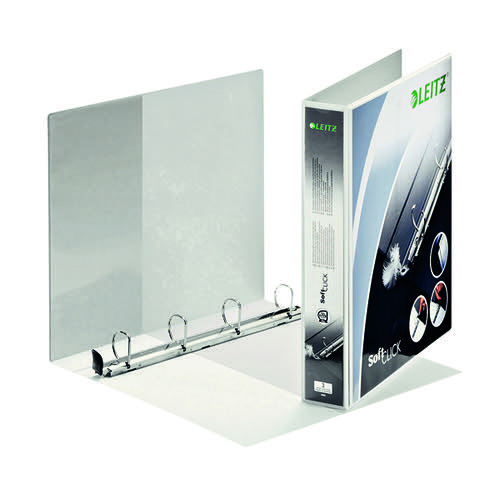 Leitz Presentation Ring Binder 4 Ring 30mm White (Pack of 6) 42020001
