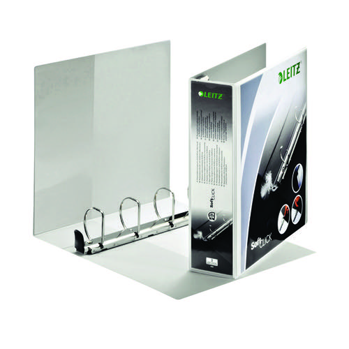 Leitz Panorama 4-Ring Presentation Binder 50mm White 42040-00-1