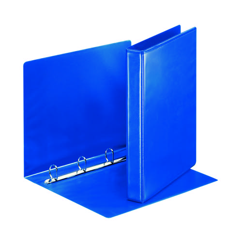 Esselte Presentation Ring Binder 4O 25mm A4 Blue (Pack of 10) 49732