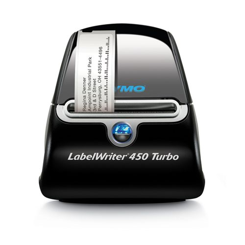 Dymo LabelWriter 450 Turbo Label Printer (Thermal printer no toner required) S0838860