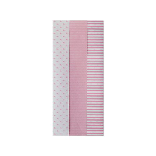 Pink Baby Tissue Paper (Pack of 12) 26763-LP