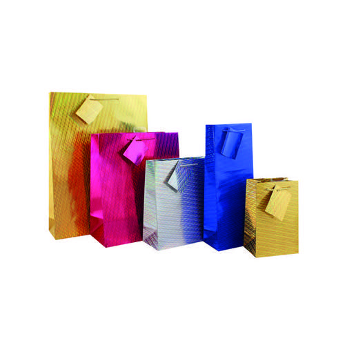 Holographic Gift Bag Medium (Pack of 12) FUNK3.