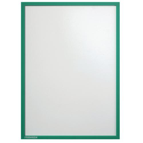 Franken Magnetic Document Holder A4 Green (Pack of 5) ITSA4M 02