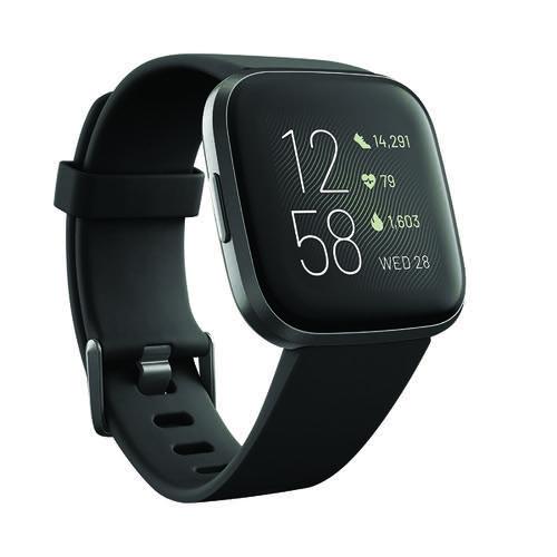 Fitbit Versa 2 Black/Carbon FB507BKBKB