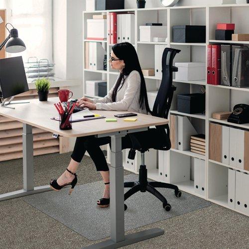 Floortex Polycarbonate Carpet Chair Mat 1500x1200x2.3mm 1115223ER