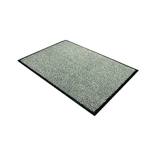 Doortex Dust Control Mat 600x900mm Black/White 46090DCBWV