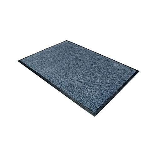 Doortex Dust Control Door Mat 900x1200mm Blue 49120DCBLV