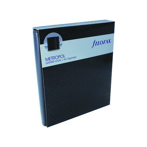 Filofax Metropol Organiser A4 Black 026921