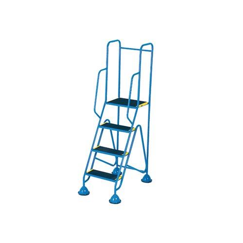 Fort Mobile Steps 4 Tread Full Handrail WS514