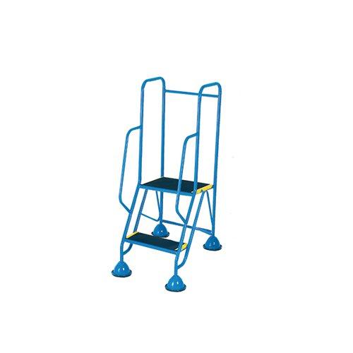 Fort Mobile Steps 2 Tread Full Handrail WS512