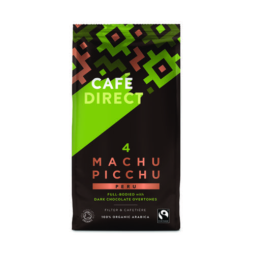 Cafedirect Organic Ground Machu Picchu Coffee 227g TWI12026