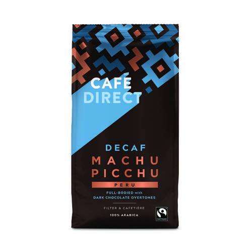 Cafedirect Fairtrade Organic Roast Ground Decaffeinated Coffee 227g TWI12028