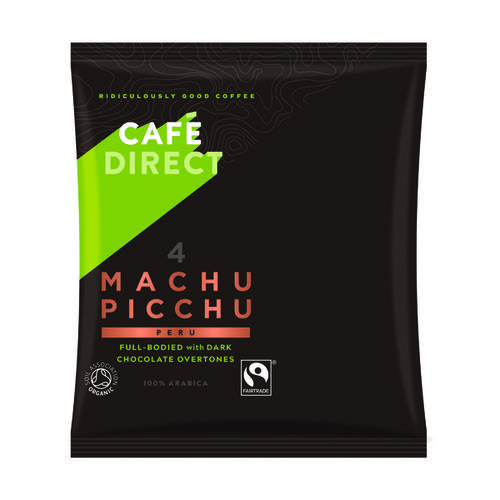 Cafedirect Machu Picchu Ground Coffee 60g (Pack of 45) FCR1011