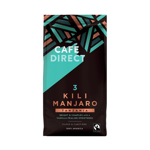 Cafedirect Kilimanjaro Coffee 227g FCR0018