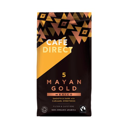 Cafedirect Mayan Gold Coffee 227g FCR1021