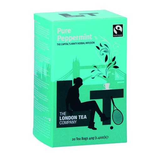 London Tea Peppermint Tea (Pack of 20) FLT0002