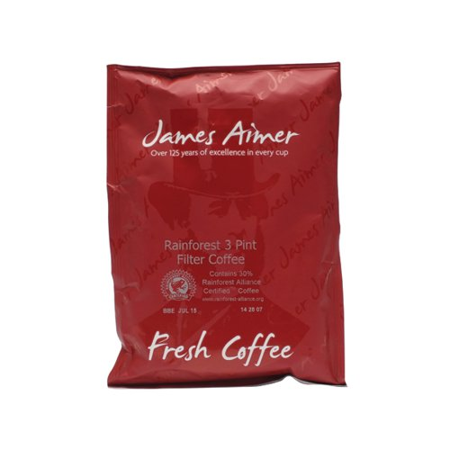 Exclusive Medium Roast Filter Coffee 3 Pint Sachet 50g (Pack of 50) VRFA3PINT