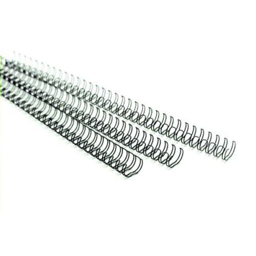 GBC MultiBind 21 Loop 85 Sheets 10mm Black Binding Wires (Pack of 100) 165221U