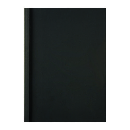 GBC LeatherGrain Thermal Binding Covers Black (Pack of 100) IB451607
