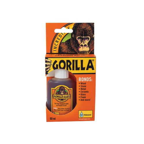 Gorilla Glue 100% waterproof 60ml Bottle 1044202