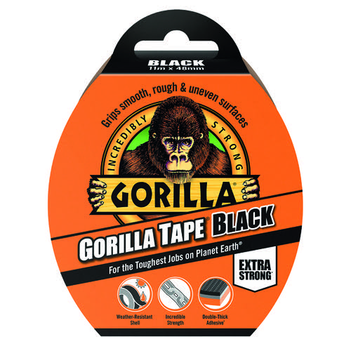 Gorilla Tape 48mm x 11m Black 3044001