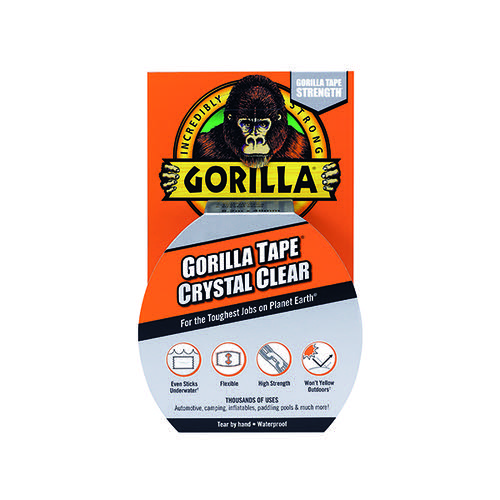 Gorilla Tape Crystal Clear 8.2m 3044701