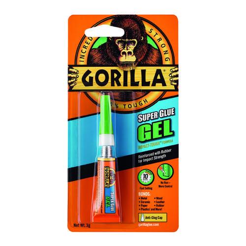 Gorilla Super Glue Gel 3g 100745