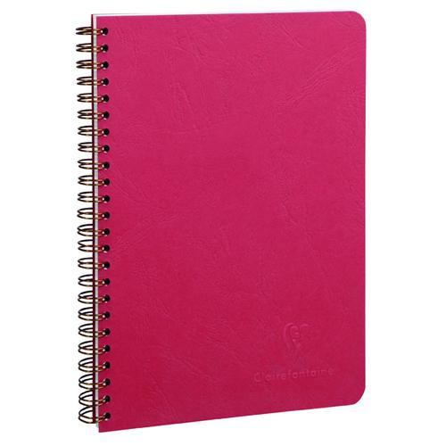 Clairefontaine Age Bag Wirebound Notebook A5 Red (Pack of 5) 785362C