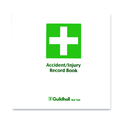 Guildhall Accident and Injury Book Compliant with DPA (Pack of 5) T44