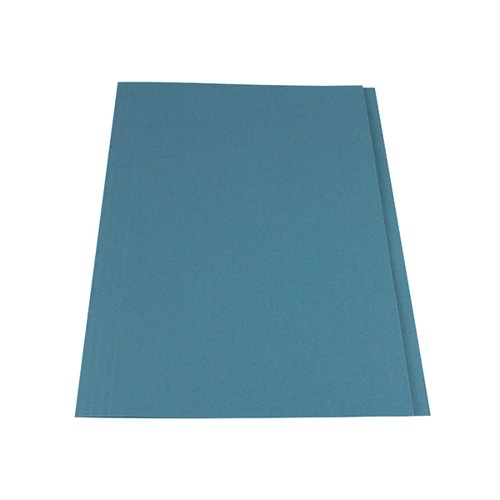 Guildhall Square Cut Folders Manilla 315gsm Foolscap Blue: Guildhall Square Cut Folder 315gsm Foolscap Blue (Pack Of