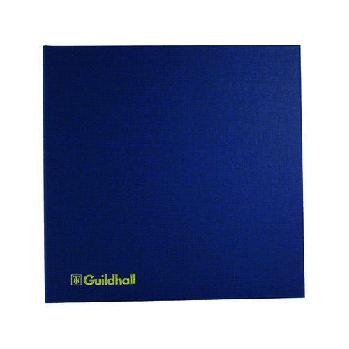 Exacompta Guildhall Account Book 80 Pages 10 Cash Columns 51/10 1330