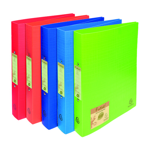 Forever Ring Binder Polpropylene A4 30mm Assorted (Pack of 10) 542570E