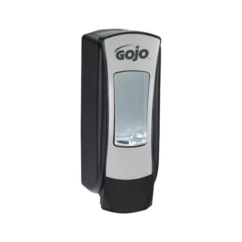 Gojo ADX-12 Manual Hand Wash Dispenser Black/Chrome 8888-06