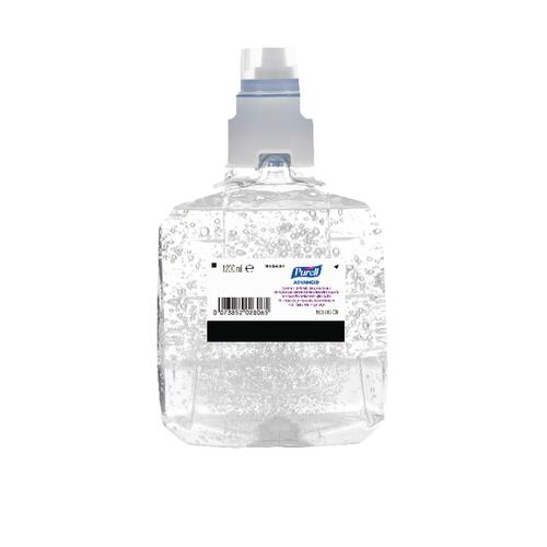 Purell Advanced Hygienic Hand Rub LTX-12 Refill 1200ml (Pack of 2) 1903-02-EEU