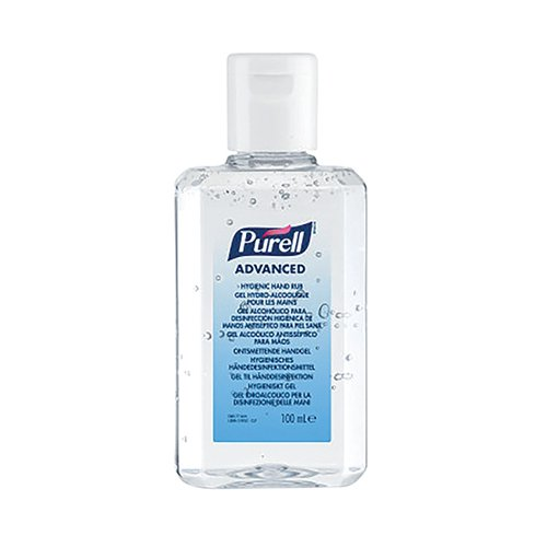 Purell Hand Rub 100ml (Pack of 24) 9661-24-EEU00