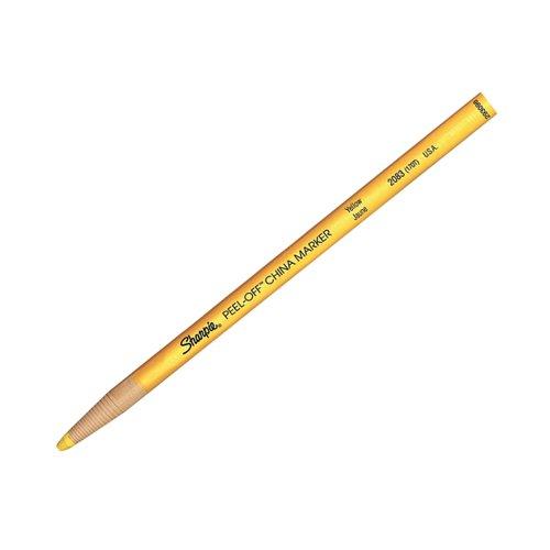 Sharpie China Marker Yellow (Pack of 12) S0305101