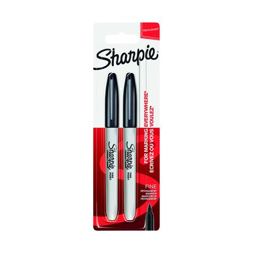 Sharpie Fine Blister Twin Pack Black (Pack of 12) S815030