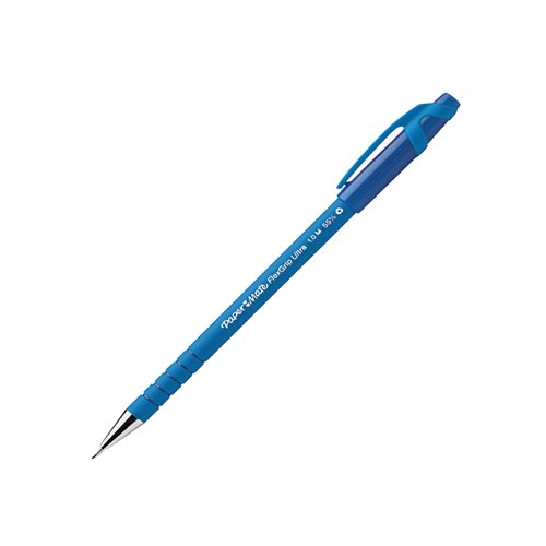 PaperMate Flexgrip Ultra Ball Pen Medium Blue (Pack of 12) S0190153