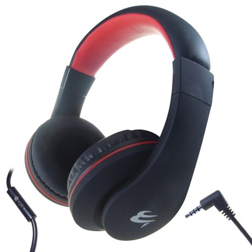 Computer Gear HP 531 Mobile Headphones with Built-in Mic and Remote 24-1531 Headphones GR00754