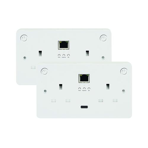Connekt Gear Smart Wi-Fii All-In-One Sockets - Starter Kit 27-3030/WIFI