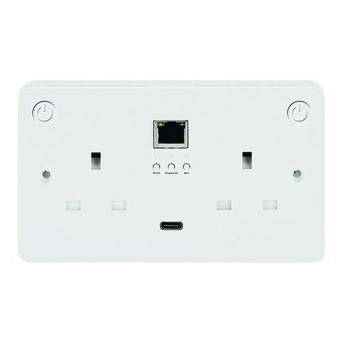 Connekt Gear Smart Wi-Fii All-In-One Sockets - Add-On Socket 27-3030/WIFI/1