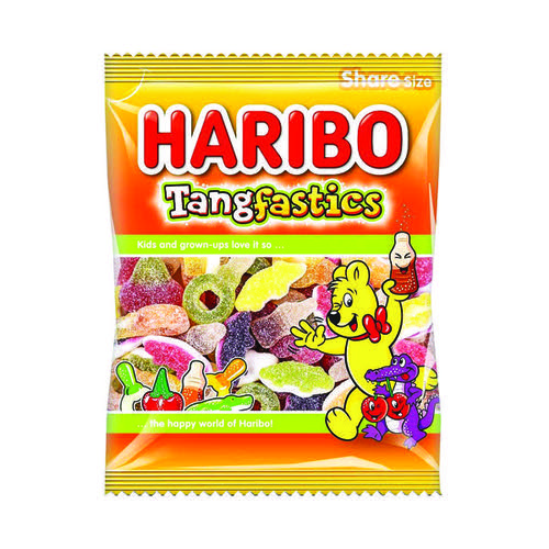 Haribo Tangfastics 140g Bag (Pack of 12) 145730