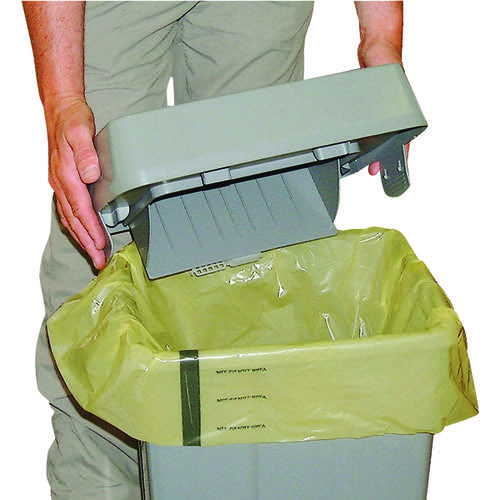 Clinical Waste Sack For Landfill Medium Duty Yellow (Pack of 250) FAYB/5