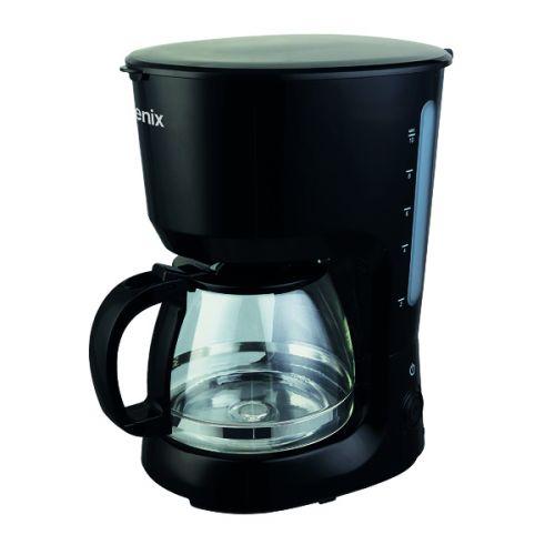 Igenix 1.25 Litre Filter Coffee Maker Black IG8126