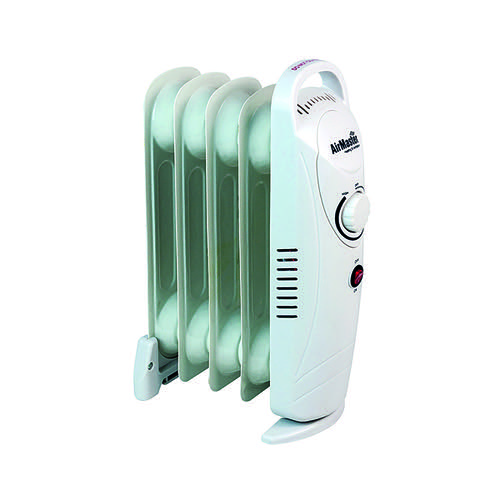 500W Six Fin Baby Oil-Filled Radiator White CRHOF320/H