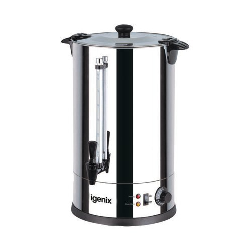 Igenix 30 Litre Catering Urn Stainless Steel IG4030