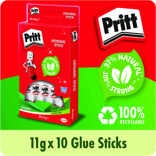 Pritt Stick 11g (Pack of 10) 1456040