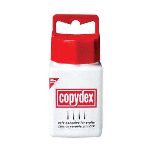 Copydex White Latex Adhesive with Brush Applicator 125ml
