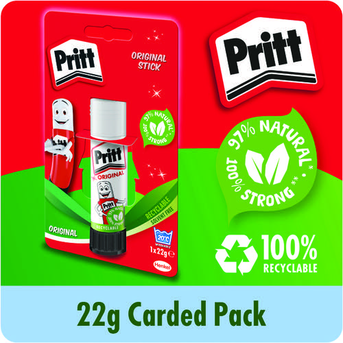 Pritt Stick 22G Medium Glue Sticks (Pack of 12) 1456074
